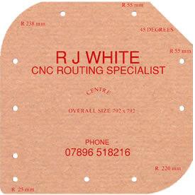 RJ White CNC routing, Essex
